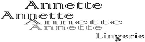 Annette Lingerie